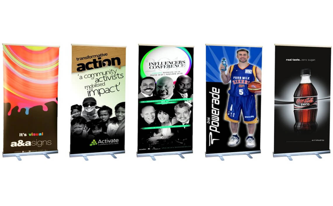 Pull Up Banners & Displays in Adelaide at Its Visual